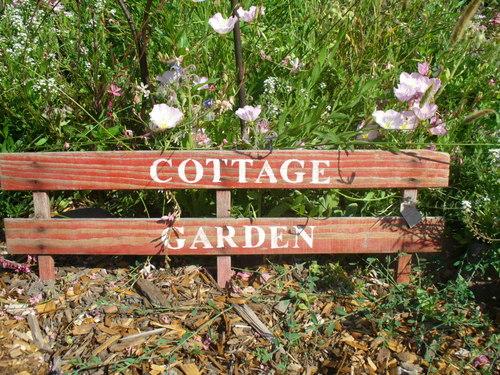 Cottage Garden sign