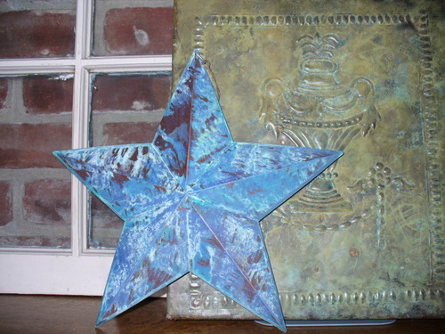 Patina Barn Star